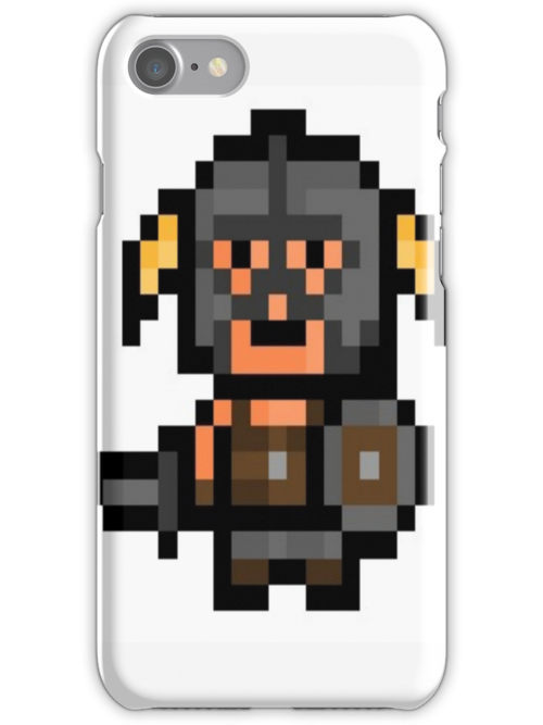 Retro dragonborn iphone/ipod case by DO-VAH-TEES