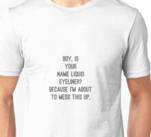 Liquid Eyeliner Unisex T-Shirt