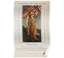 Stand by! A campaign of comradeship Poster
