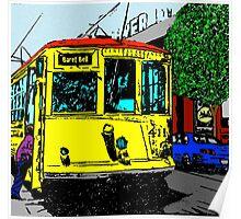 Little Rock Trolley Poster