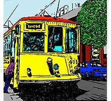 Little Rock Trolley Photographic Print