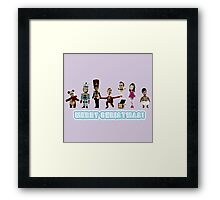 Stop Motion Christmas - Style C Framed Print