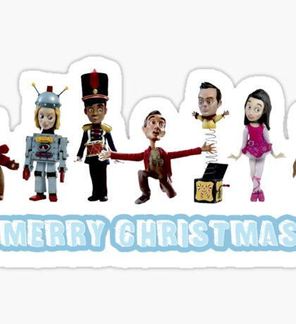 Stop Motion Christmas - Style C Sticker