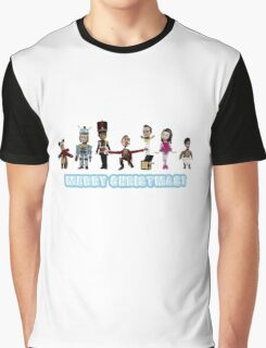 Stop Motion Christmas - Style C Graphic T-Shirt