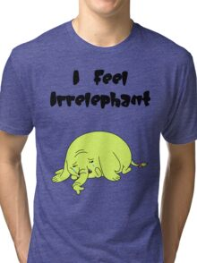 Irrelephant Tri-blend T-Shirt