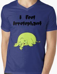 Irrelephant Mens V-Neck T-Shirt