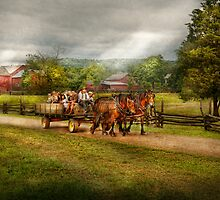 Country - Horse - Life's Pleasures by Mike  Savad