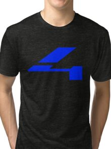 Halo 4 Solid Fill Tri-blend T-Shirt