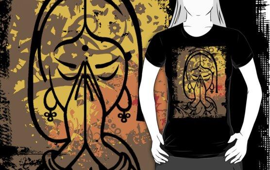 Namaste T-Shirt by T-ShirtsGifts