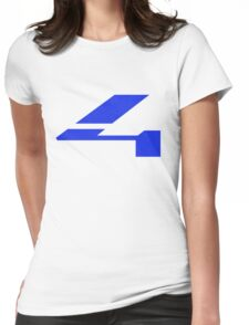Halo 4 Grainy Fill Womens Fitted T-Shirt