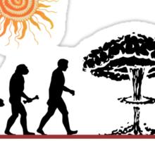 Not So Funny Evolution T-Shirt Sticker