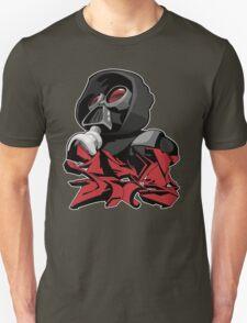 Graffiti propaganda style Unisex T-Shirt