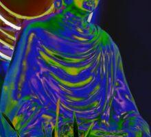 Psychedelic Buddha Sticker