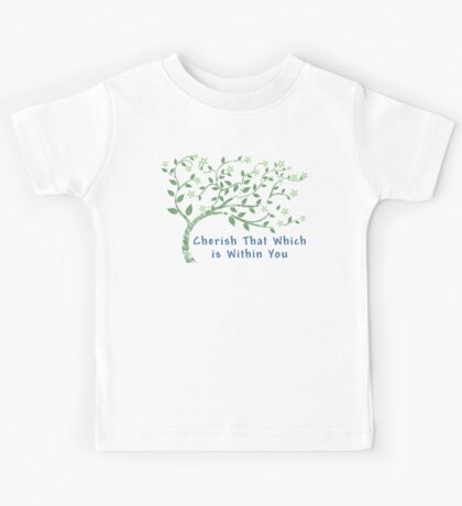 Yoga Quote T-Shirt Kids Tee
