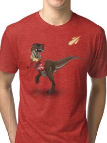 Hipstereosaurus Rex Tri-blend T-Shirt