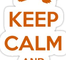Keep calm and pick Charmander (version 1)  Sticker