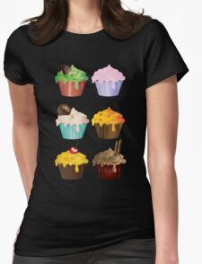 Cupcake Six Womens Fitted T-Shirt