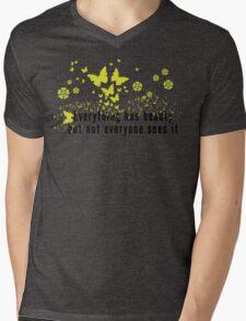 Yoga Quote T-Shirt Mens V-Neck T-Shirt