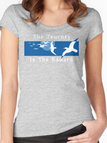 Yoga Saying T-Shirt Women's Fitted Scoop T-Shirt