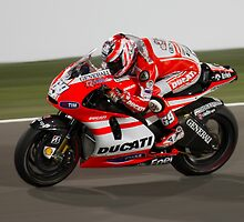Nicky Hayden in Qatar 2011 by corsefoto