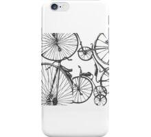 Black Bikes iPhone Case/Skin