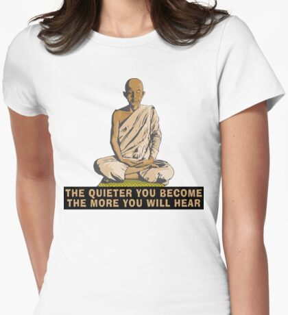Buddha Quote T-Shirt Womens Fitted T-Shirt