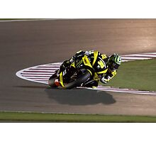 Cal Crutchlow in Qatar 2011 Photographic Print