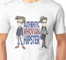 Doctor Who Whovian Hipster Unisex T-Shirt