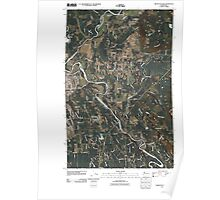 USGS Topo Map Washington State WA Arlington East 20110418 TM Poster
