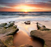 Gunnamatta Sundown by Nick Skinner