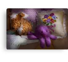 Child - Toy - Octopus in my closet  Canvas Print