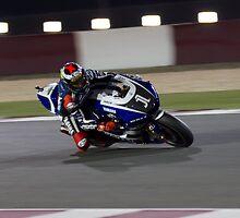 Jorge Lorenzo in Qatar 2011 by corsefoto