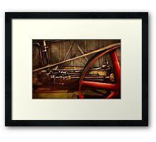 Steampunk - Machine - The wheel works Framed Print
