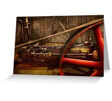 Steampunk - Machine - The wheel works Greeting Card