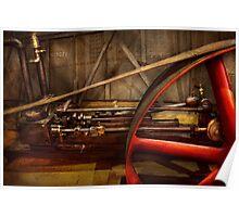 Steampunk - Machine - The wheel works Poster