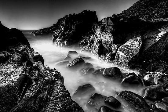 Bombo Rocks ~ B&W by Arfan Habib