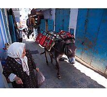 Balak - Donkey Behind You! Photographic Print