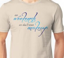 Weekend Style - Blue Unisex T-Shirt