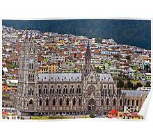 Basillica, Quito, Ecuador Poster
