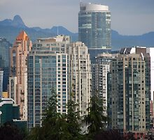 Yaletown Neighborhood by John Schneider