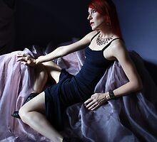Evening in an Evening Gown by Jennifer Rhoades