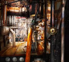 Steampunk - Plumbing - Pipes by Mike  Savad