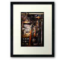 Steampunk - Plumbing - Pipes Framed Print