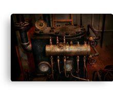 Steampunk - Plumbing - The valve matrix Canvas Print