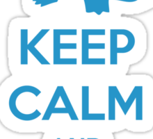 Keep calm and pick Squirtle (version 1)  Sticker