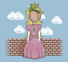 The Princess of Peach Kids Tee