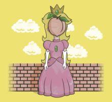 The Princess of Peach Kids Clothes