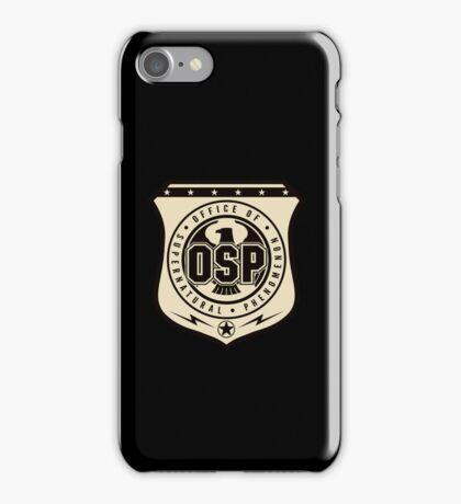 OSP iphone (Black) iPhone Case/Skin