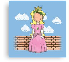 The Princess of Peach Canvas Print