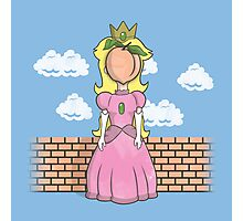 The Princess of Peach Photographic Print